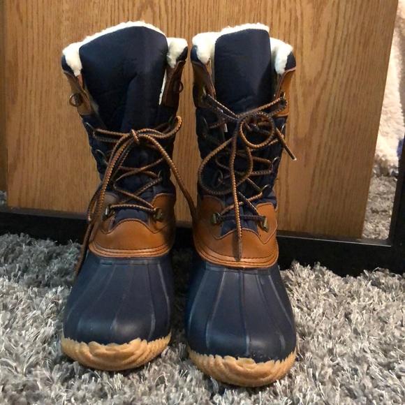 8a98a055fc Lands  End Shoes - Lands End woman s rain  all weather boots